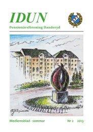 Medlemsblad - sommar Nr 2 2013 Pensionärsförening Danderyd