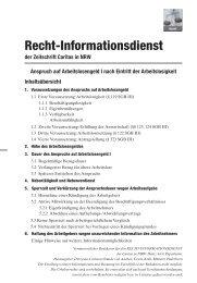 Recht-Informationsdienst - Caritas NRW