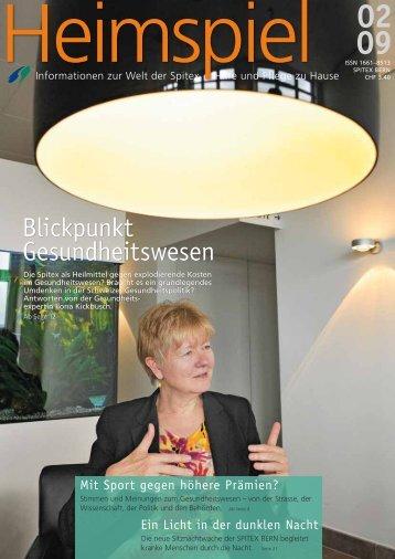 Blickpunkt Gesundheitswesen - SPITEX Bern