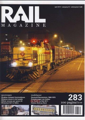 Rail Magazine april 2011 - Het Spoorwegmuseum