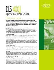 DLS 400J - Helmut Singer Elektronik