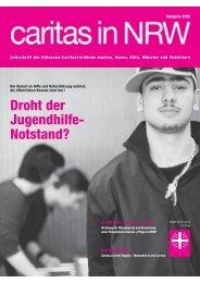 Droht der Jugendhilfe- Notstand? - Caritas NRW