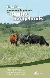 Grazing Management Adjustments for Healthy Rangeland