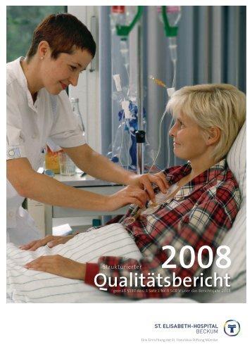 Qualitätsbericht - St. Franziskus Stiftung