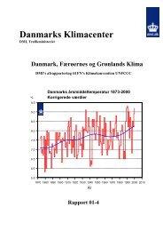 Danmarks, Færøernes og Grønlands klima - DMI