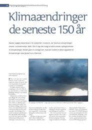 Klimaændringer de seneste 150 år - DMI