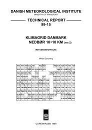 Klimagrid Danmark - DMI