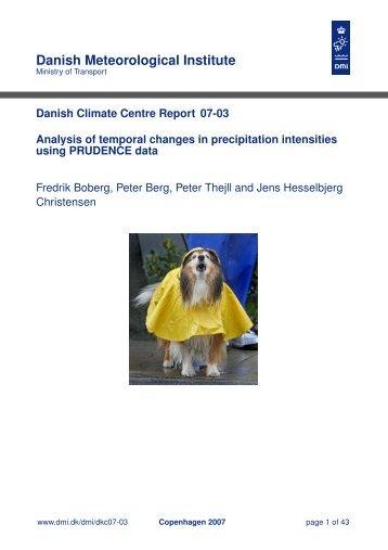 Danish Meteorological Institute - DMI