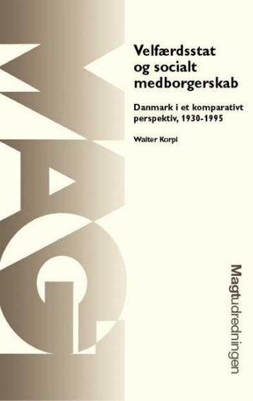 Velfærdsstat og socialt medborgerskab Danmark i et komparativt ...
