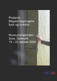 pdf-fil (9,5Mb) - Nordisk Konservatorforbund Danmark