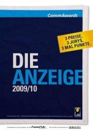 3 Preise, 3 Jurys, 3 Mal Punkte. - Commclubs Bayern