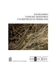 Handleiding voor het monitoren van reptielen - Cbs