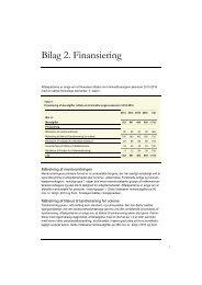 Bilag 2. Finansiering - Justitsministeriet