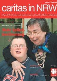Mehr Selbst- bestimmung - Caritas NRW