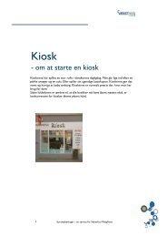 - om at starte en kiosk