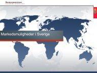 Eksport til Sverige