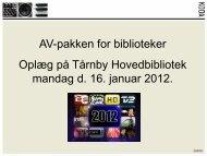 AV pakken_Stig Hielmscrone.pdf - Statsbiblioteket
