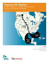 Keystone XL Pipeline - Undermining US Energy Security - Natural ...