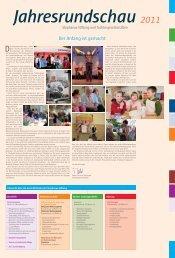 Jahresrundschau 2011 - Stephanus-Stiftung