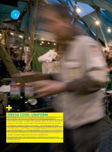 Dress code: uniform (pdf, 2320KB) - Steunpunt Jeugd