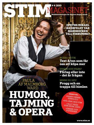 huMor, tajMing & opera - Stim