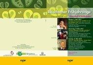 Reischacher Frühjahrstage.pdf - Stiftung Vital