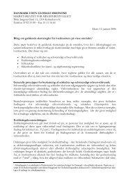 Bilag om gældende skatteregler for iværksættere på visse områder