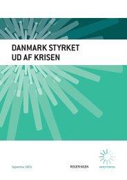 Debatoplæg Danmark styrket ud af krisen - Statsministeriet