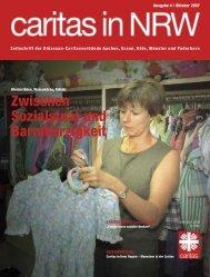 Zwischen Sozialstaat und Barmherzigkeit - Caritas NRW