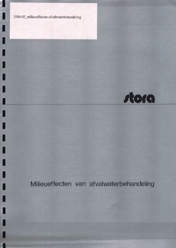 rapport 1984-05 - Stowa