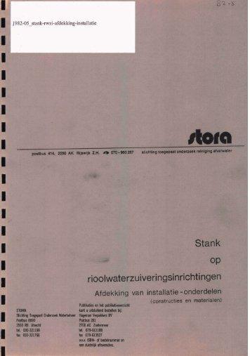 rapport 1982-05 - Stowa