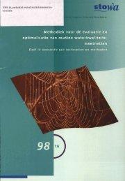 rapport 1998-16 - Stowa