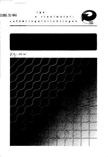 rapport R91-04W - Stowa