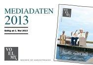 mediadaten 2013 - Strandkorb & Co.