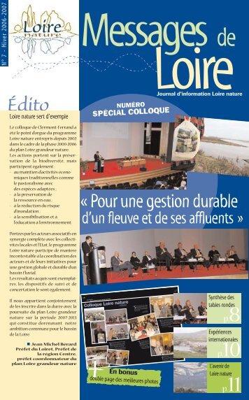 Télécharger le bulletin - Loire nature