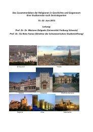 Reader - Schweizerische Studienstiftung