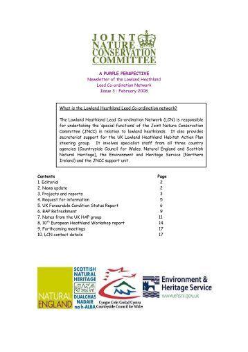 Newsletter - JNCC - Defra
