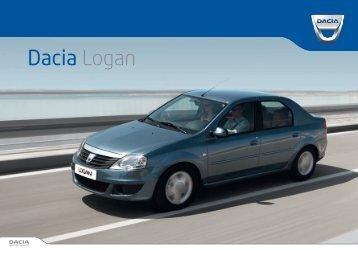 Brochure Dacia Logan Sedan - Daciamodellen.nl