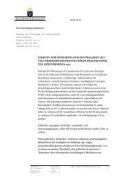 ENHETEN FÖR ÖSTEUROPA OCH CENTRALASIEN (EC) VID ...