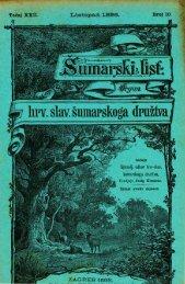 ŠUMARSKI LIST 10/1898
