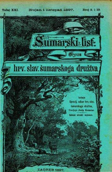 ŠUMARSKI LIST 9-10/1897