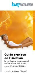 Guide pratique de l'isolation - Hansez-Dalem