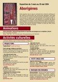 ACTIVITÉS CULTURELLES - musée des Confluences - Page 6