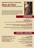 ACTIVITÉS CULTURELLES - musée des Confluences - Page 7