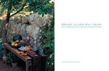 kärlek, oliver och timjan - Collier-international.co.uk