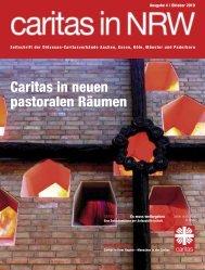 Caritas in neuen pastoralen Räumen - Caritas NRW