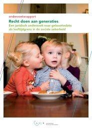 Onderzoeksrapport recht doen aan generaties (pdf, 985 kb) - Svb