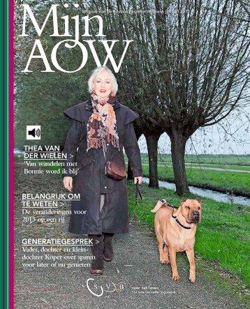 Beluister Magazine Mijn AOW 2013 (PDF, 21 MB) - Svb