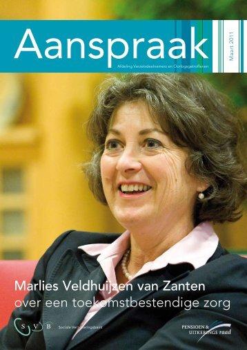 Aanspraak maart 2011 - Svb