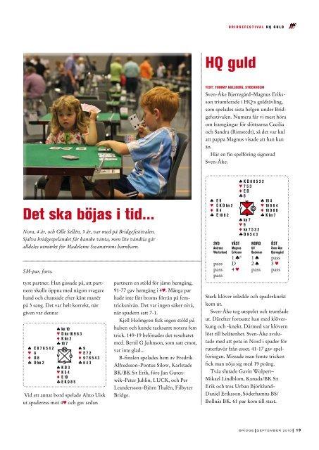 Sid 19-39 - Förbundet Svensk Bridge